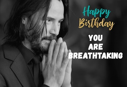 𝟱𝟲 𝗮𝗻𝘀  aujourd'hui. Joyeux anniversaire 𝗸𝗲𝗮𝗻𝘂 𝗥𝗲𝗲𝘃𝗲𝘀 !🎂 🍾 Encore quelques années ensemble j'espère 😘 #joyeuxanniversaire #movies #actor #hollywood #keanureeves #happybirthday #birthday #celebratebirthday
