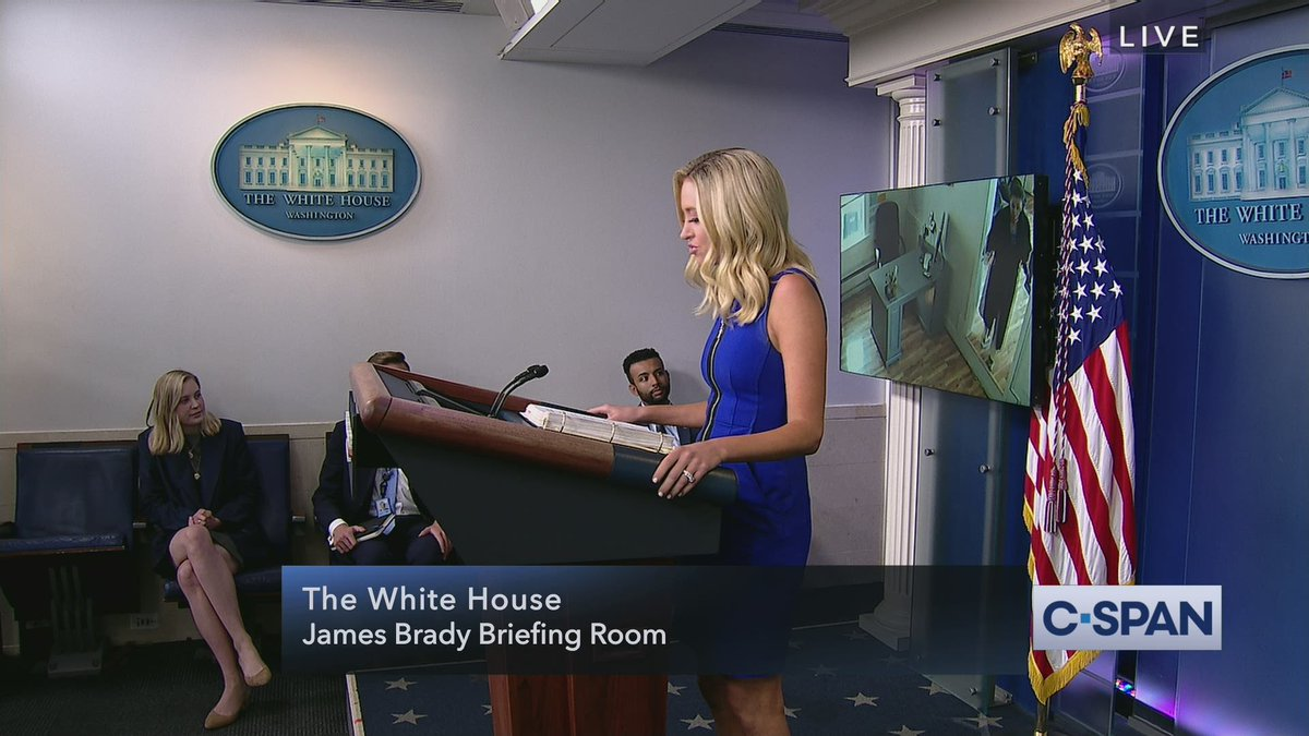 ".@PressSec Kayleigh McEnany:  ""We found Nancy Pelosi going into her hair salon. We will be playing the video on loop for all of you to see during the duration of this introduction...Apparently the rules do not apply to Speaker Nancy Pelosi.""  Full video:"