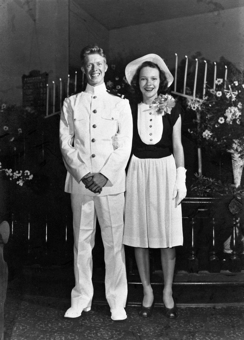 Jimmy Carter and lovely Rosalynn Carter: happily married to for 74 years! Damn!!! #JimmyCarter #RosalynnCarter  https://t.co/ct5zysudHP