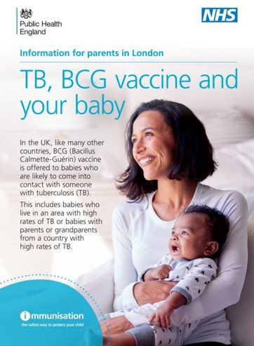 BCG service update: The BCG is no longer available to all babies born in London. Please visit Public Health England for further information https://t.co/6fq4pfETMO