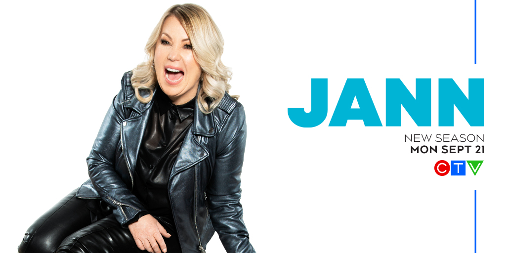 She's back and better than ever! #JANNonCTV returns for Season 2 on Monday, September 21. @jannarden https://t.co/6m25bpNlPY
