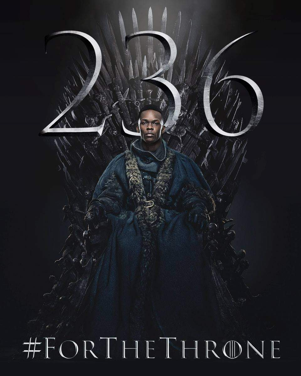 UFC × Game of Thrones #UFC236 #Winteriscoming #ForTheThrone https://t.co/tK2KwFyfhw