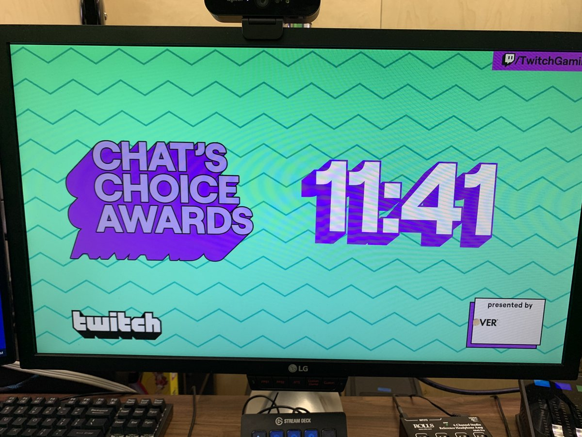 Loadingreadyrun On Twitter Join Graham Lrr As He Co Streams The Twitch Chat S Choice Awards Https T Co Wibuftpzmj