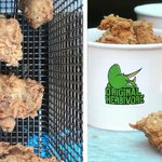 Image for the Tweet beginning: New Vegan Fried Chicken Shop