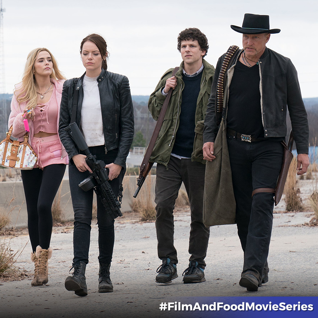 Tallahassee loves his comfort food. Get #Zombieland: Double Tap on sale for a limited time through our #FilmAndFoodMovieSeries. 🧟 🍿   Find out additional movie picks to enjoy with your favorite comfort food here, now on sale!   https://t.co/7Wzqu3Xm48 https://t.co/ryGw6m2X2o