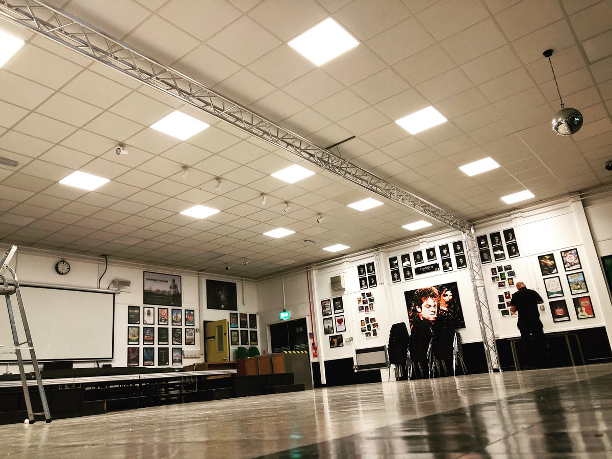 After many years of talking about it, we have finally bought and installed our own lighting truss and new LED lighting. Just one of many new developments at Artz Centre. Thank you @thomann https://t.co/jlomSvSHfv