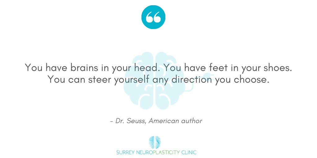 """#quoteoftheday """"You have brains in your head. You have feet in your shoes. You can steer yourself any direction you choose"""" – Dr. Seuss #brainquotes#neuroplasticity #drseuss #drseussquotes https://t.co/07nhEUTuSU"""