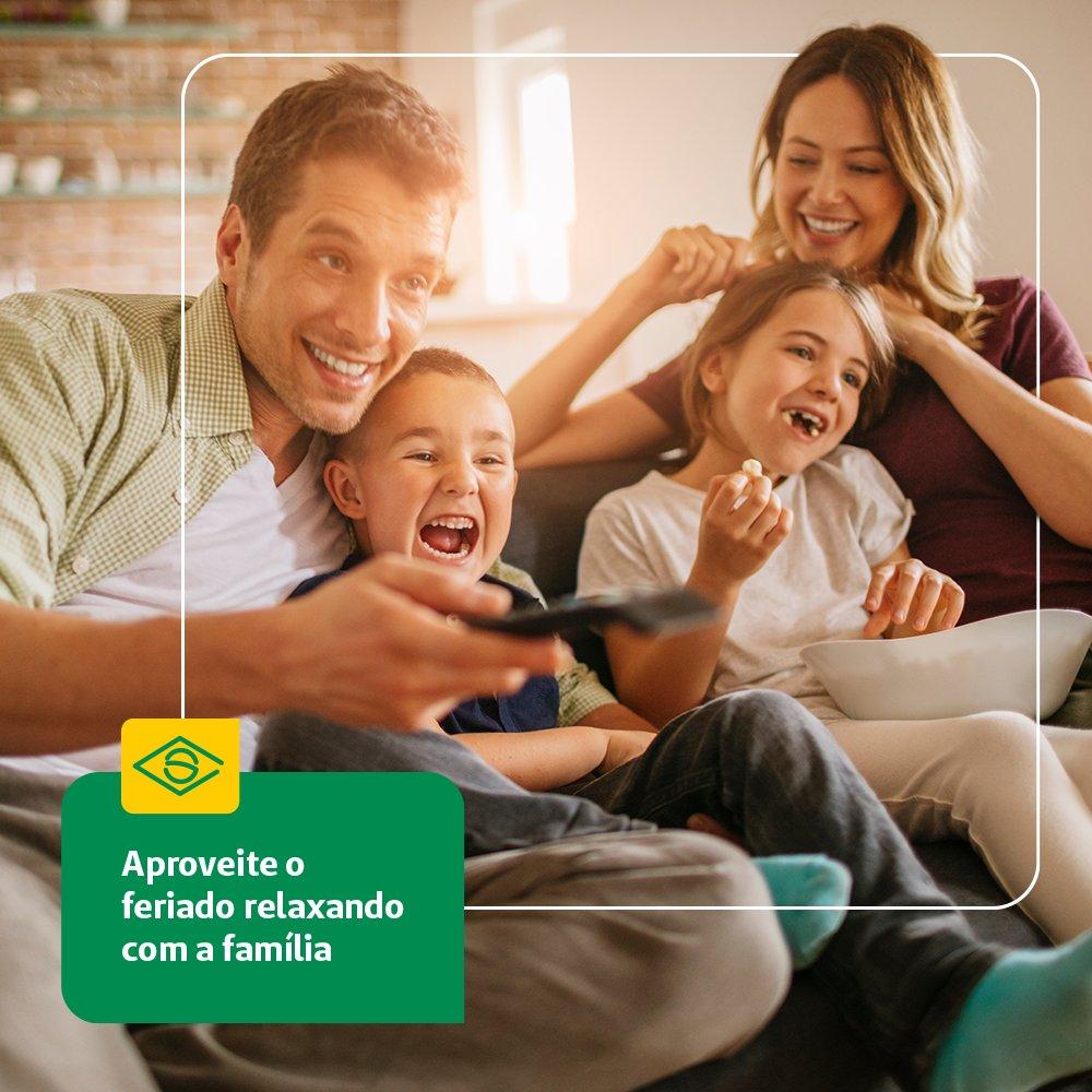 Uma segunda-feira com um feriadinho bate aquela preguiça boa né?! Nesse Dia da Independência do Brasil curta com a família em casa e com a proteção que precisamos para esse momento. https://t.co/tMV4wwNvRt