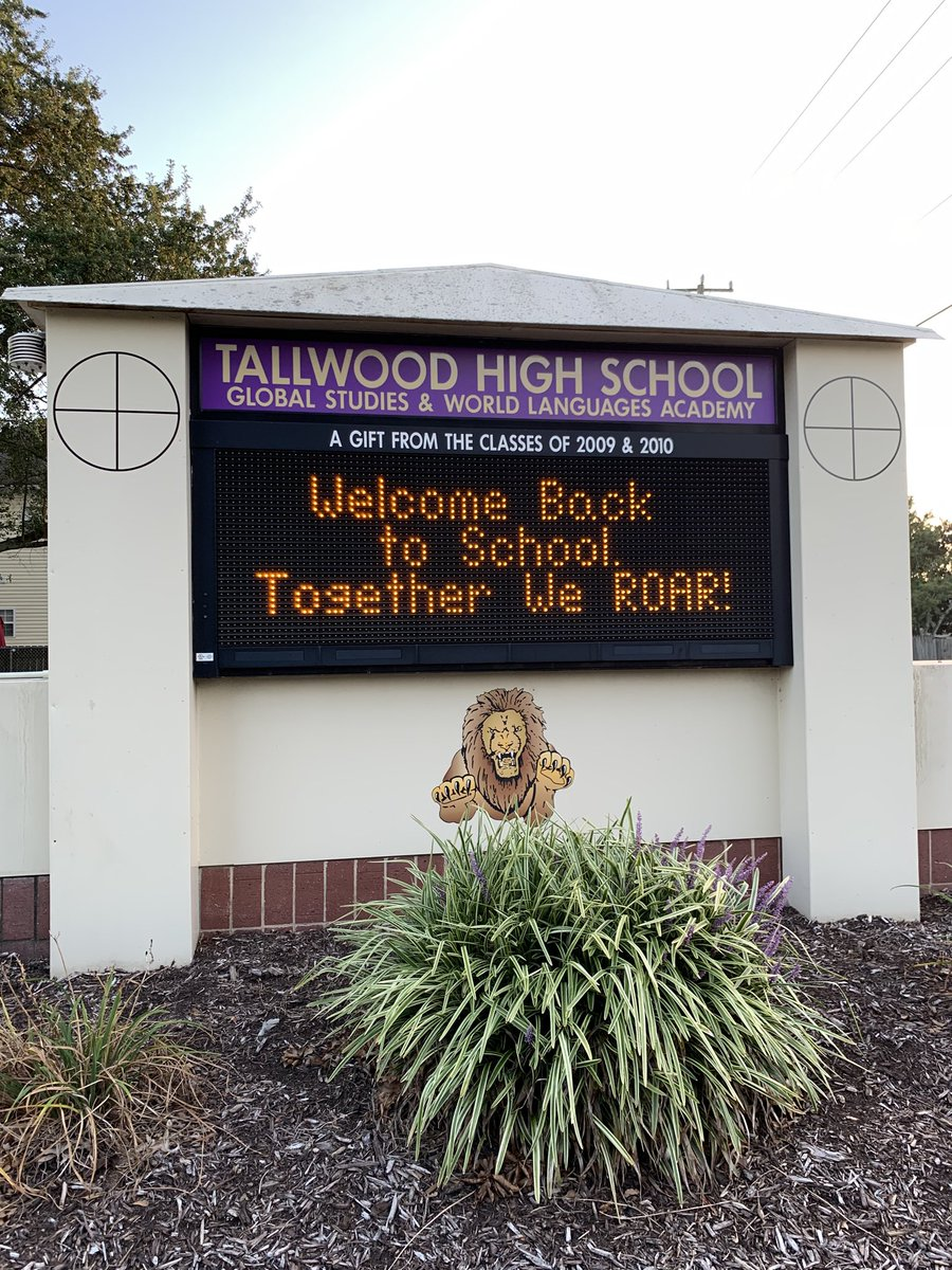 We love our Lions! Looking forward to Tuesday and starting school! @TallwoodLions