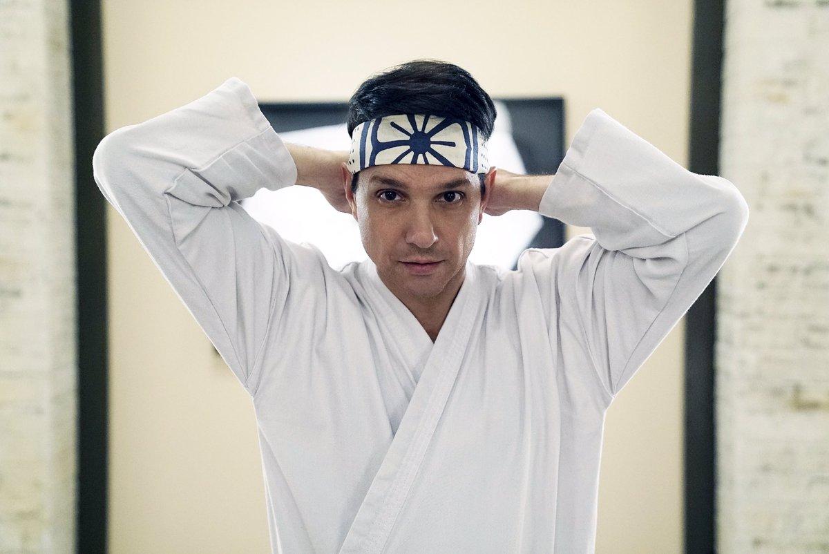 Ralph Macchio is 4 years older in Cobra Kai than Mr. Miyagi was in the original Karate Kid. https://t.co/oNaa6TvJDp
