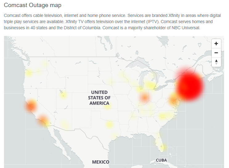 Comcastoutage Hashtag On Twitter