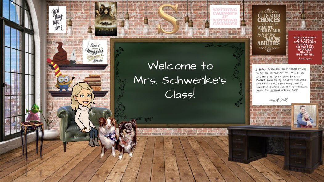 I have to share this because I wish this were really my classroom!! I even got my pups in there ❤️