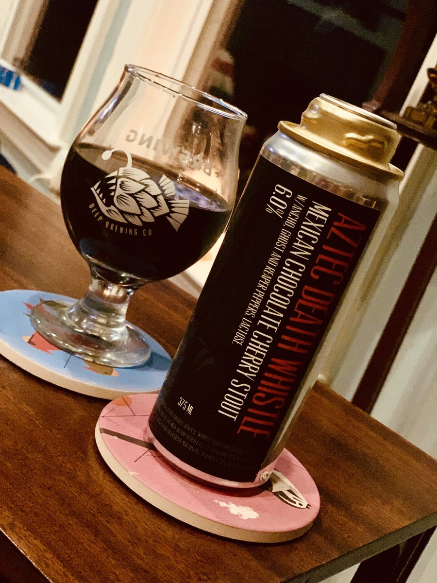 Omg @DeepBrew!!!! Aztec Death Whistle is fucking uh-may-zing‼️🔥‼️🔥‼️🔥 #CANiversary