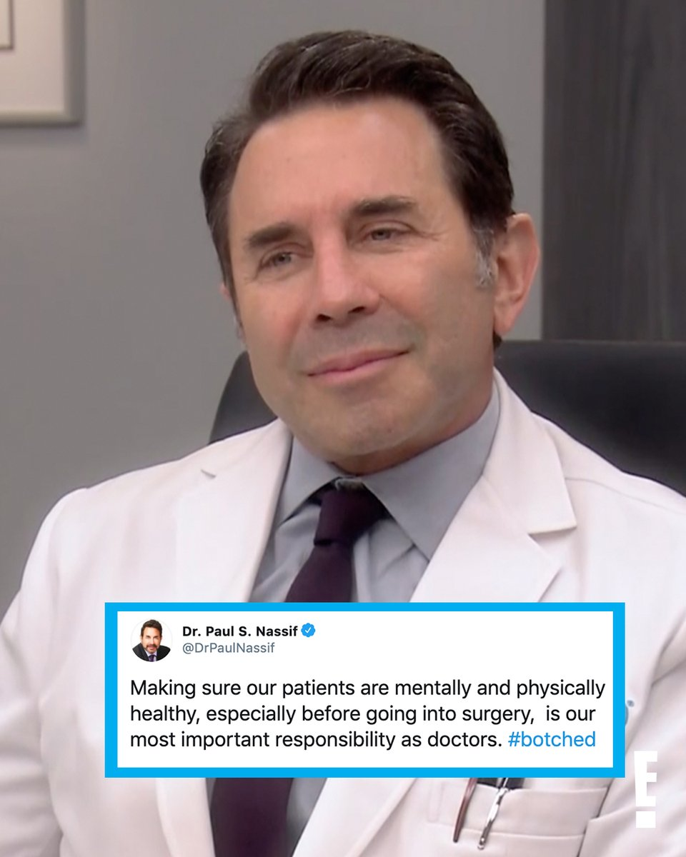 The best docs on TV #Botched