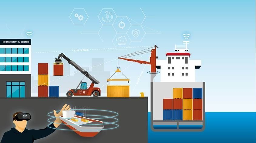 EU project to connect #autonomous ships with automated ports  #shipping #smartport  @maritimesmart  https://t.co/aXVikuWM6y https://t.co/A1ALm8rY7C