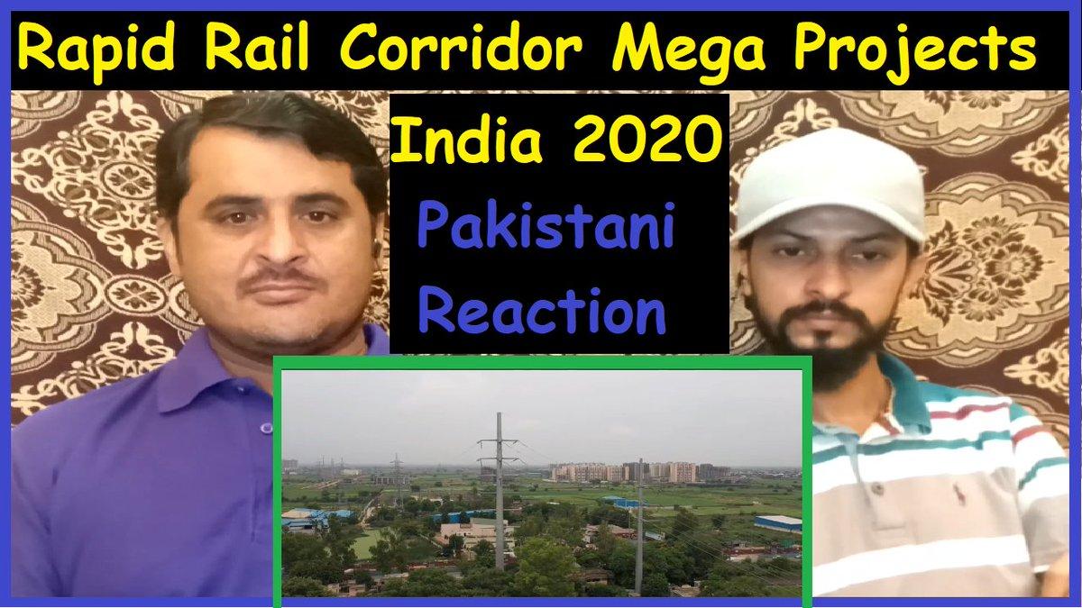 #Pakistani_Reaction On #Rapid_Rail_Corridors | #NCRTC | #Mega_Projects_in_India_2020 l #Kamran_Ali_TV  #Virendersehwag #one8fragrances #Indian