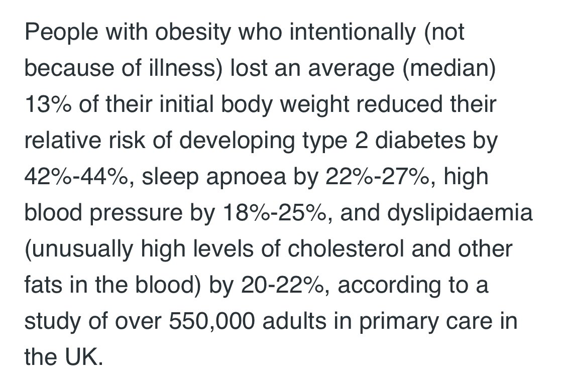 Important research coverage today by various news media:  Study in half a million adults with #overweight or #obesity suggests benefit of #weightloss on serious health problems https://t.co/YHTZzqj6T9 @medexpresspl @novonordisklive #ACTION #ECOICO2020 https://t.co/9gp78uHMco