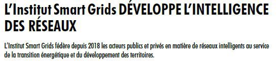 Edition 2️⃣0️⃣2️⃣0️⃣ de Transition Énergie Climat Auvergne-Rhône par @Enviscope.  Mise en avant de l'Institut Smart Grids et de ses #partenaires 👥 : @enedis, @enedis_rhod, @enedis_alpes, @GRTgaz, @boralexfr, @EDFofficiel, @EDFENR_Officiel, @EDF_AuRhAlpes, @IFPENinnovation, #GRDF https://t.co/a4Kkr95NCG