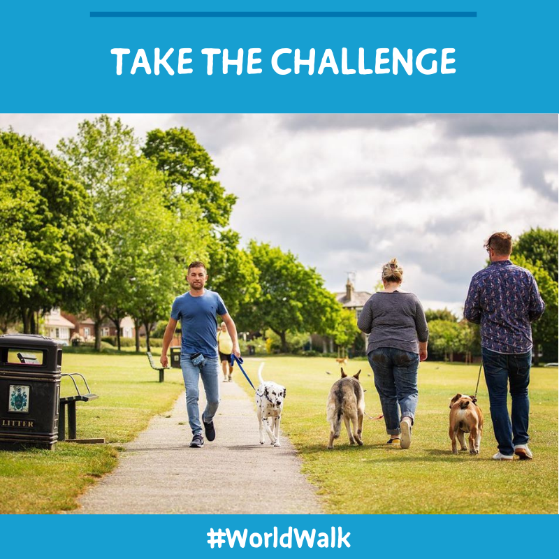 September is the @big_dogwalk challenge and our awesome friend, expert dog behaviourist and all-round superhero @dog_ease has pledged to walk 100 miles to help raise money for dog-related charities…   https://t.co/X06kW2L9ln #BarkingHeads #WorldWalk #Walkies #DogCharity https://t.co/bChurFMvf9