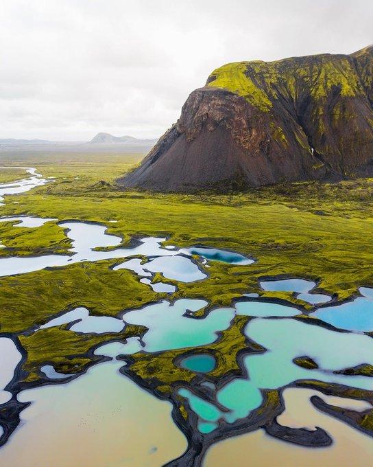 بِرك المياه الجليدية المنصهرة أيسلندا