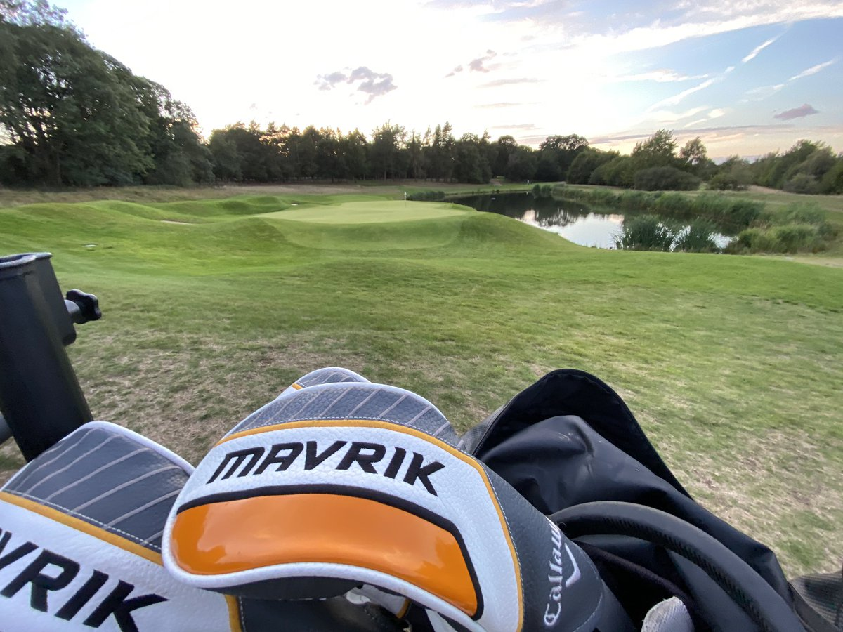 The @CallawayGolfEU Mavrik are definitely staying in the bag after a handy points total at @Royal_Norwich and what a course it is!!!  (pic taken from behind the 17th green) #stableford #Competition https://t.co/4qGhF5XWB3