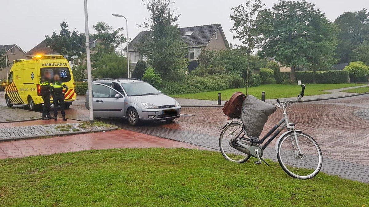 Meppel auto en fietsster betrokken bij aanrijding -..