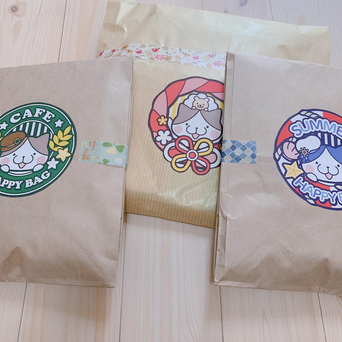 いしだゆいさま(@ishi_kuroda )から福袋お迎えしました! しおんから聞いてえっなにこれかわいい!って即ポチってしまう程にツボでした✨ このお値段でこんなに入ってていいの…!?って震えるほど沢山可愛いが詰まってて幸せ…🥰✨ https://t.co/PnVoEW0N8z