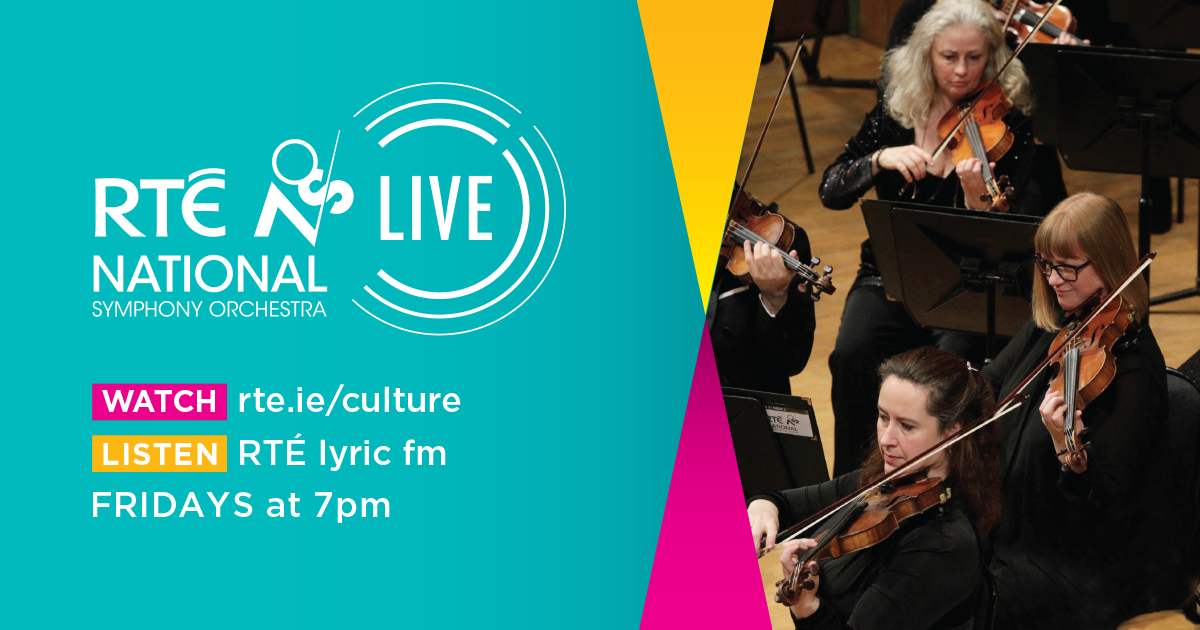 We are thrilled to announce our return to live perforance on Friday 11 September with RTÉ National Symphony Orchestra LIVE, a new series of 12 concerts live-streamed in HD on @RTE_Culture and live on @RTElyricfm at 7pm. @NCH_Music #rtensolive See https://t.co/QkvMo4DXp8 https://t.co/gHuoeqi9yH