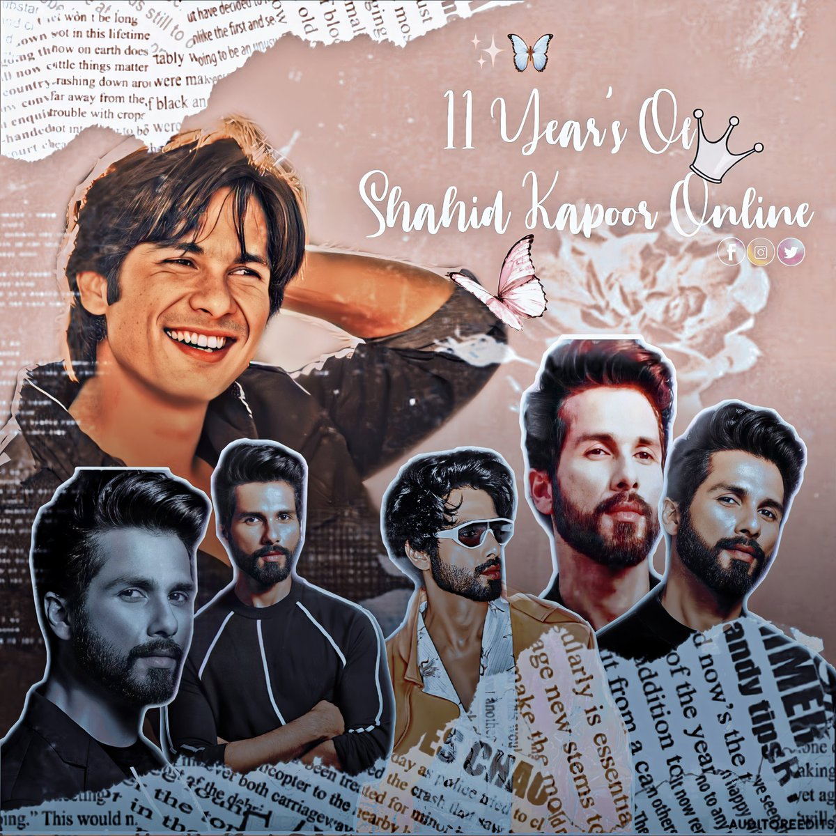 It's our 11th #Twitterversary !! 💃🏻❤😍 So much love to @shahidkapoor ❤ for being the reason of our existence!!  Also love for all #Shanatics for being with us every step of the way!🥰🥰🥰  Thank you for EVERYTHING!😘🤗