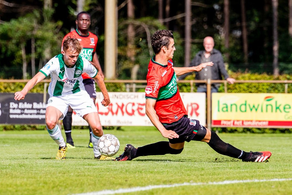 Full Time Fc Groningen 3 3 Nec Nijmegen International Club Friendlies September 4 2020 Football365