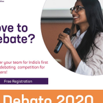 Image for the Tweet beginning: SoME launches first online debate