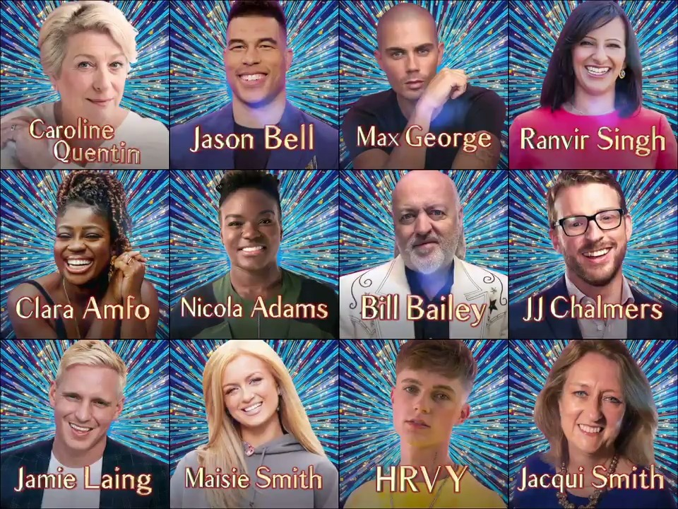 Our #Strictly line-up is complete! Meet the class of 2020 💃🕺🏻 👉bbc.in/Strictly2020