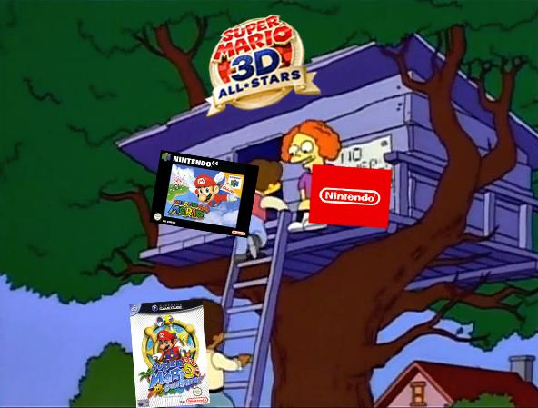 Gustavo Acero در توییتر Los Simpson También Predijeron Lo De Mario Galaxy 2 En Super Mario 3d All Stars