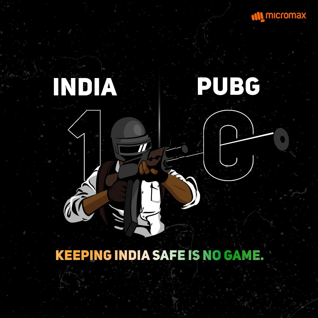 When it comes to a choice between a game and India's security, it should be no choice at all. After all, victory rarely comes without sacrifice. #AppBan #AtmanirbharBharat #JoinTheRevolution https://t.co/6k4Wv6s4hH