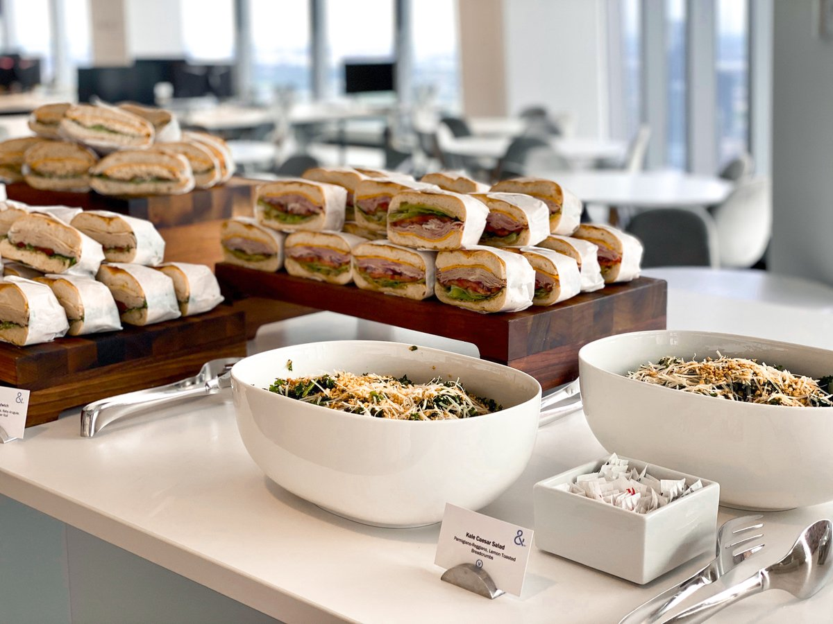 #WellxDurst now offers complete breakfast and lunch catering packages delivered directly to your office at #OneWTC. Link for ordering here: wellbydurstowtc.com/cuisine/ #DurstAmenities #DurstDelicious #DurstPerks