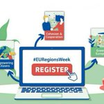 Registration to the fully digital #EURegionsWeek is open. Discover over 500 digital sessions from 5-22 October 2020, a.o. discussing:  ▪️macro-regional strategies ▪️post-2020 ▪️Interreg's role to respond to   global challenges  Register until 27 Sept. ➡️https://t.co/yX8nT5gYRE