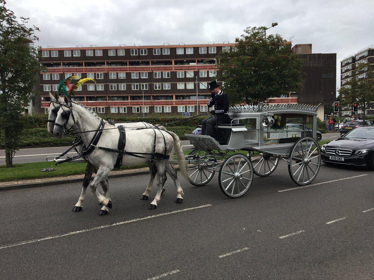 Funeral of Paulette Wilson in Wolverhampton #Windrush