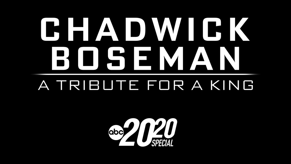 """Chadwick Boseman – A Tribute for a King."" Now streaming on #DisneyPlus. https://t.co/0tiukx0Oka"