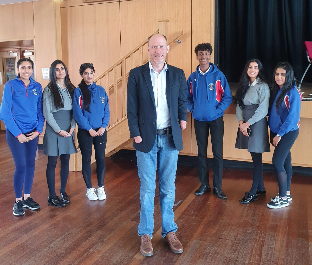 The S6 pupils thoroughly enjoyed their first Talking Points speech of the year from the inspirational Jamie Andrew OBE who, despite being a quadruple amputee, has climbed mountains all over the world and has raised thousands of pounds for charity along the way. https://t.co/awiAsaZtM5