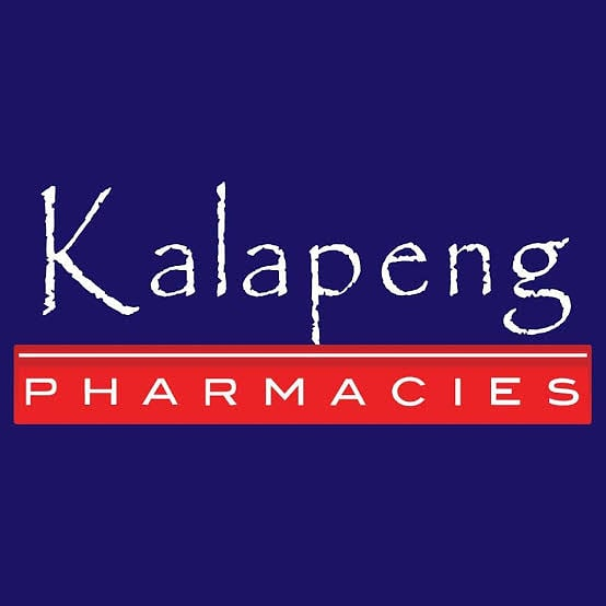 We are Kalapeng Pharmacy the largest chain of black owned pharamacies in South Africa. Tell your friends and family to come home.