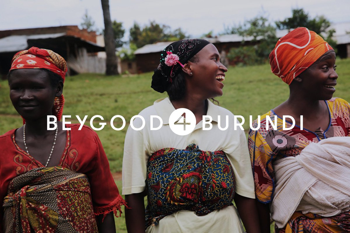 Mothers in Burundi want to provide clean, safe water for their children. Let's help them, together:  #BEYGOOD4BURUNDI !!