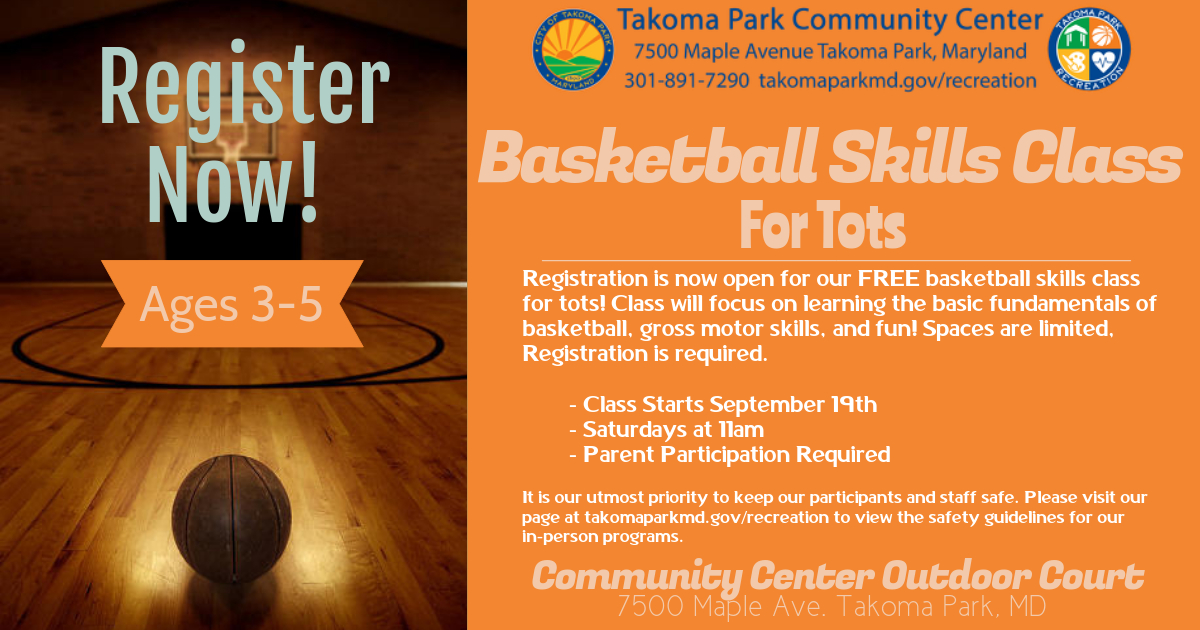 Dribble, Jump, Shoot! Reg for our Tots Basketball Skills is now open. This FREE Saturday class is open for our little friends ages 3-5 years old & will focus on introductory skills & gross motor skills. Classes begin Sept 19th at 11am. Reg required! https://t.co/i8F2cCVJXA https://t.co/Ejfu6rIE0o
