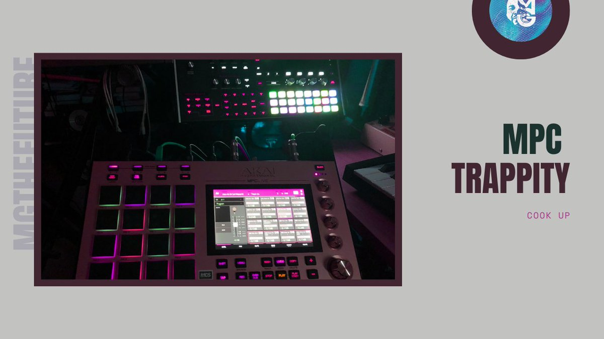 Akai MPC Live | Trap Drums Go Harder on MPC (MG Live) https://t.co/9Vr0HrOi4q via @YouTube   #beatmaking #tutorial #akaimpclive  #elite  #spicy https://t.co/lfXGfN3i44