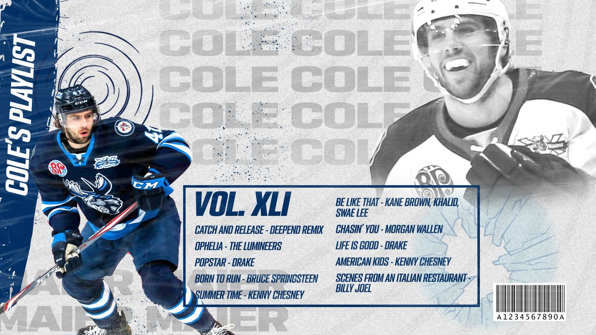 Looking for some new songs to listen to during the Labour Day long weekend? #MBMoose forward Cole Maier shares his top ten tunes! https://t.co/NjsBUj1vMe