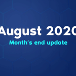 Image for the Tweet beginning: $Veil monthly update for August