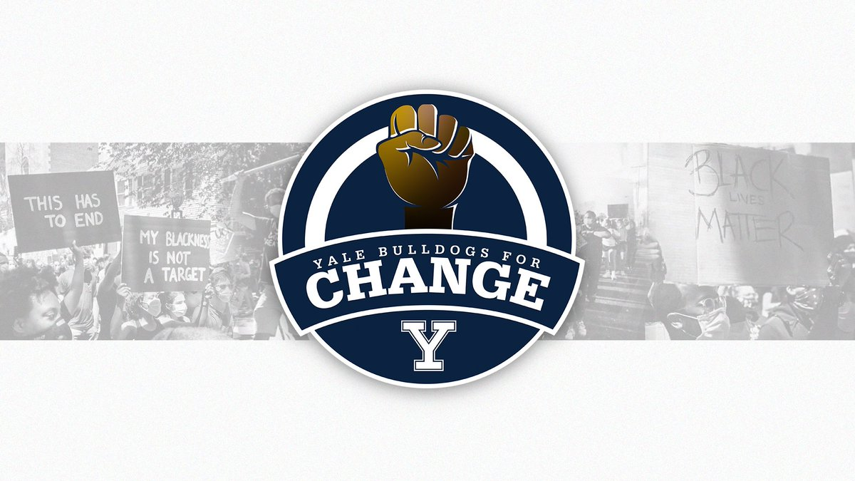 Yale Athletics Launches Social Justice & Inclusion Site, Announces Formation of Student-Athlete Group: Yale Bulldogs for Change (YBC) 𝙒𝙚 𝙬𝙞𝙡𝙡 𝙗𝙚 𝙥𝙖𝙧𝙩 𝙤𝙛 𝙩𝙝𝙚 𝙘𝙝𝙖𝙣𝙜𝙚 MORE ➡️ bit.ly/3icZGLr #ThisIsYale