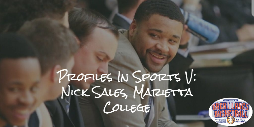 Coming in October: With racial strife and violence taking place from coast to coast, an important conversation with Marietta College associate head coach Nick Sales on racial equality and how we as a society can move forward together.  #d3hoops https://t.co/GYvb4AFlHH