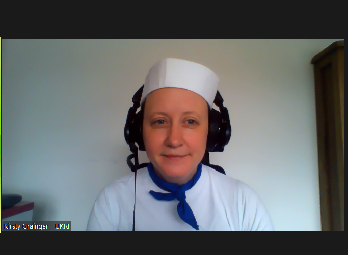 @Pingosaurus I'm in trouble... #FancyDressFriday (still not out of outfits). I was going for sailor and not chef before anyone asks... https://t.co/gSAY6kSsjt