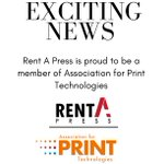Image for the Tweet beginning: 📢Exciting News! Rent A Press