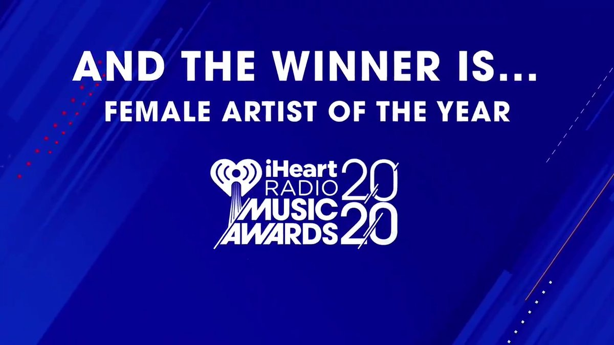 """After being the first musician born in the 2000s to have a No. 1 album, there is no doubt that the """"Female Artist Of The Year"""" at the 2020 #iHeartAwards is @billieeilish.   Check out her speech below and congratulate her using #iHeartAwards 🏆 https://t.co/crBfVqf0to"""